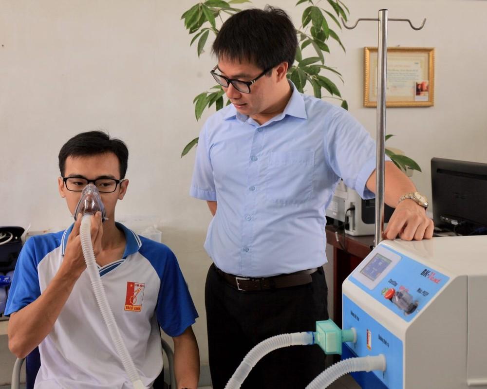 Nghiên cứu chế tạo thành công máy thở BK-Vent