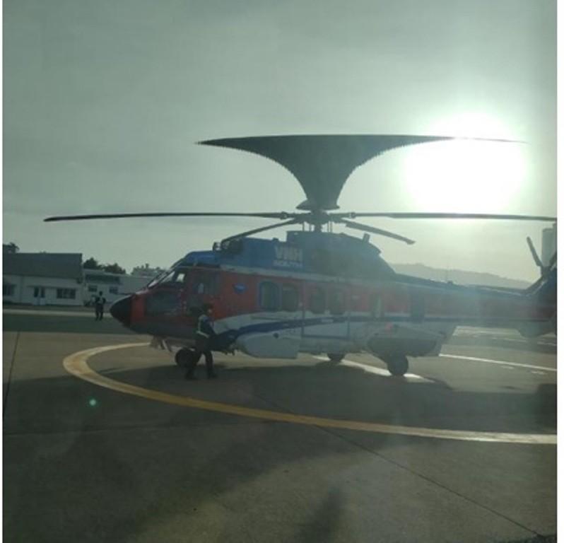 TPHCM: Dùng trực thăng cấp cứu người nước ngoài