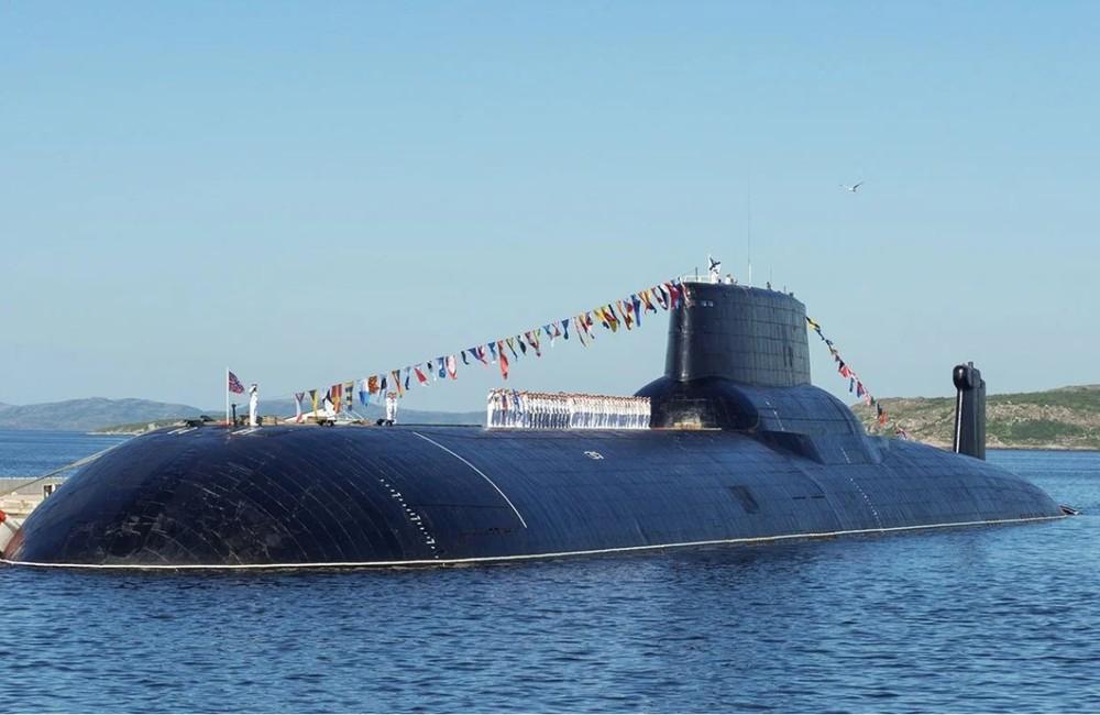 Tàu ngầm 'quái vật Akula' duy nhất còn sót lại trong hải quân Nga đã trở lại