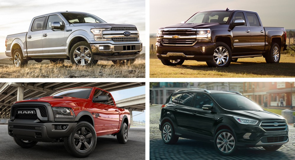 Top 10 xe cũ bán chạy nhất tại Mỹ