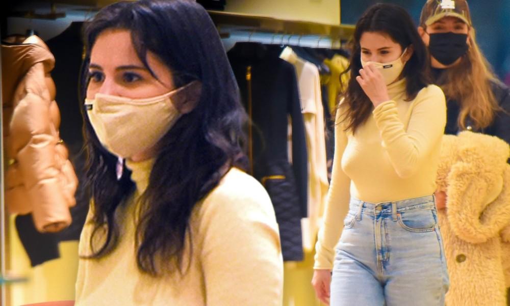 Selena Gomez mặc phong cách không nội y ra phố - mega 655