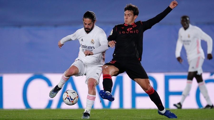 Bị cầm hòa, Real mất vị trí thứ 2 vào tay Barca
