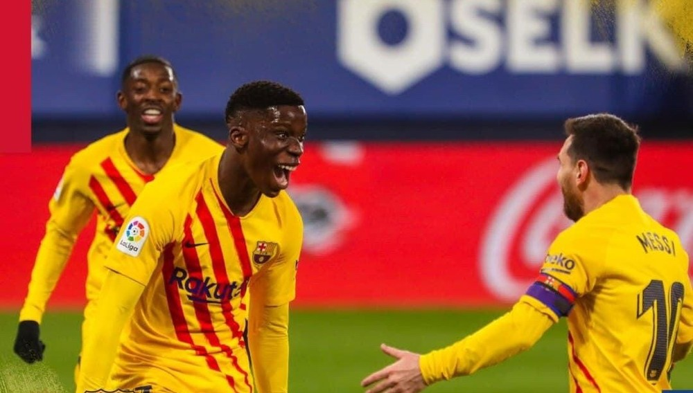 Hạ Osasuna, Barca rung đùi xem đại chiến thành Madrid