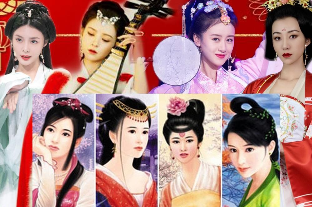 Mê mẩn ngắm các nữ diễn viên hóa thành tứ đại mỹ nhân trong lịch sử Trung Quốc