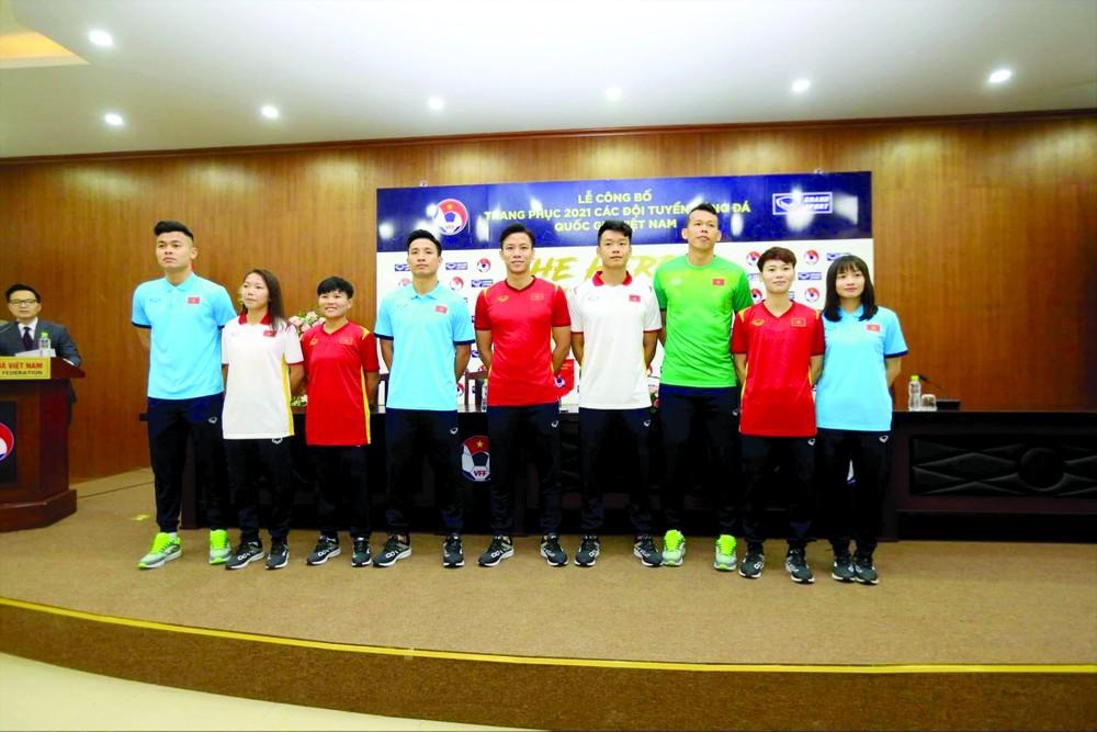 VFF muốn kinh doanh sản phẩm các đội tuyển quốc gia