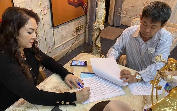 Vợ đại gia Dũng ''lò vôi'' gửi đơn tới công an tố ông Võ Hoàng Yên