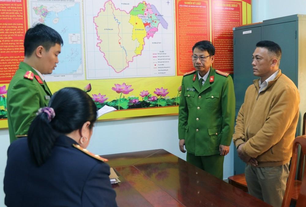 Khởi tố một trạm trưởng trạm bảo vệ rừng