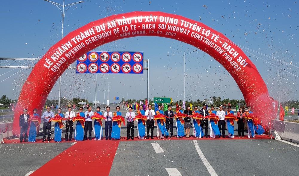 Khánh thành tuyến Lộ Tẻ - Rạch Sỏi hơn 6.300 tỷ