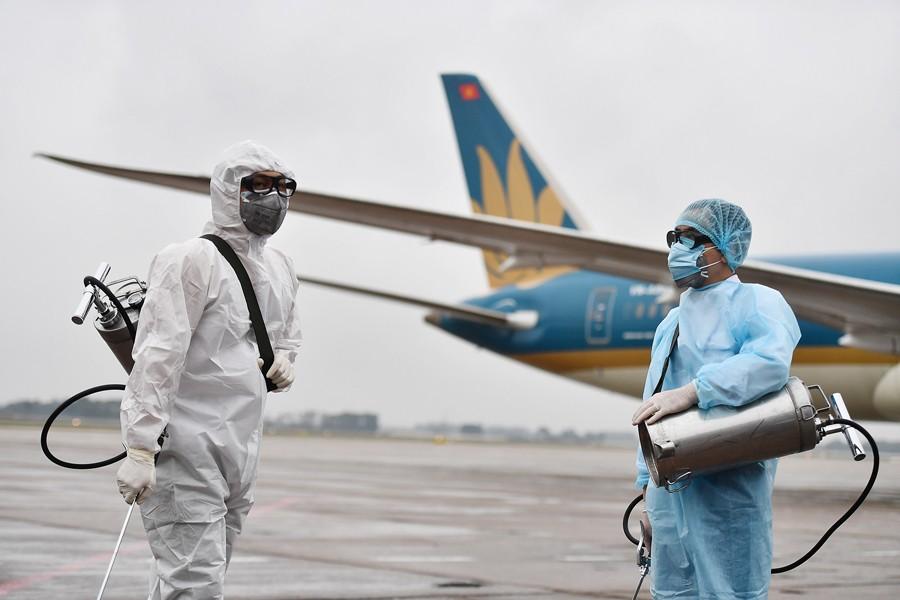 Sân bay Vân Đồn đóng cửa 15 ngày, hàng không nâng cấp phòng dịch với Hải Phòng
