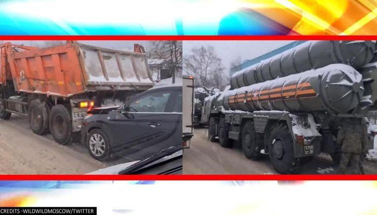 Xe chở 'rồng lửa' S-400 gặp tai nạn liên hoàn trên đường cao tốc