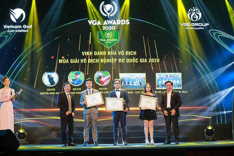 VGA Awards 2020: Vì sự nghiệp golf trẻ Việt