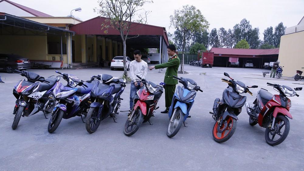 Trốn truy nã, nam thanh niên trộm hơn 10 xe máy khắp các tỉnh