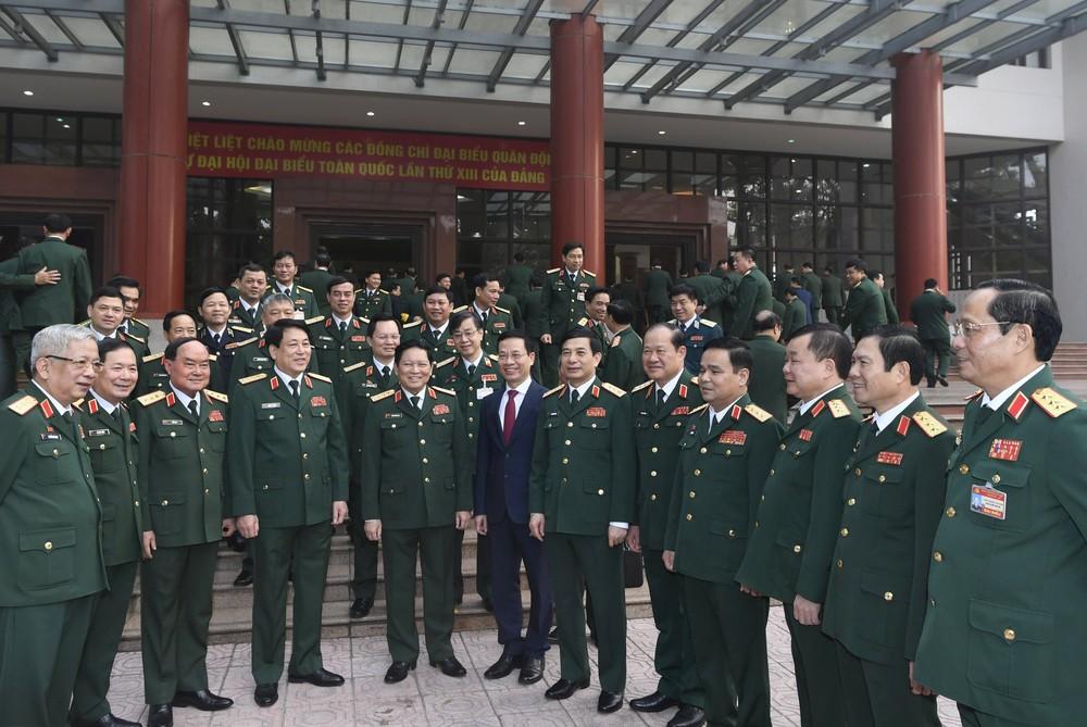 Quân ủy T.Ư gặp mặt 125 đại biểu Quân đội dự Đại hội Đảng XIII
