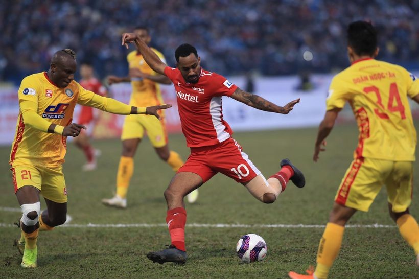 Thanh Hoá khiến Viettel mất điểm trận thứ 2 ở V-League