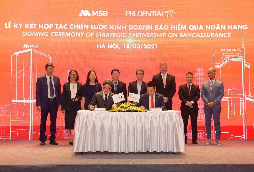 Prudential chính thức trở thành đối tác duy nhất của ngân hàng MSB