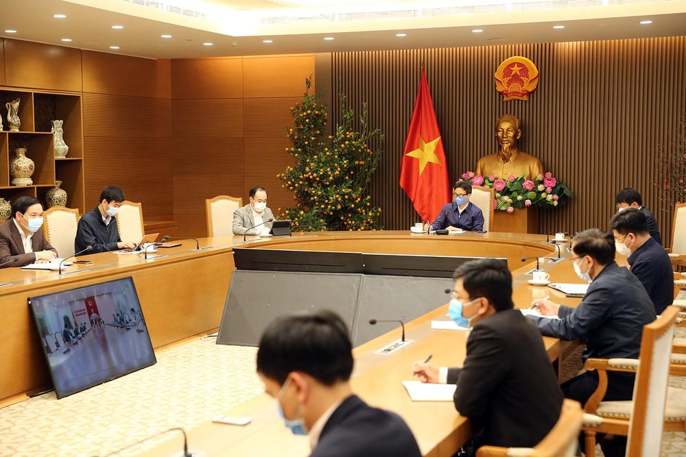 Làm việc với Phó Thủ tướng, lãnh đạo tỉnh Quảng Ninh cam kết kiểm soát dịch COVID-19