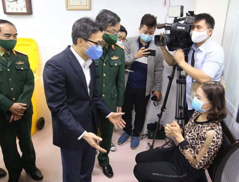 Việt Nam thử nghiệm vắc-xin ngừa COVID-19 giai đoạn 2