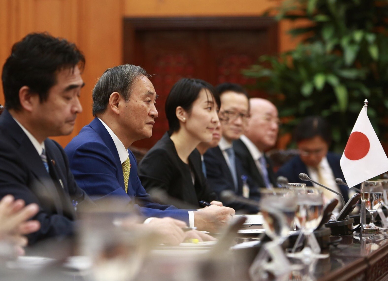 Thủ tướng Nguyễn Xuân Phúc chủ trì lễ đón thủ tướng Nhật Bản Suga Yoshihide ảnh 9