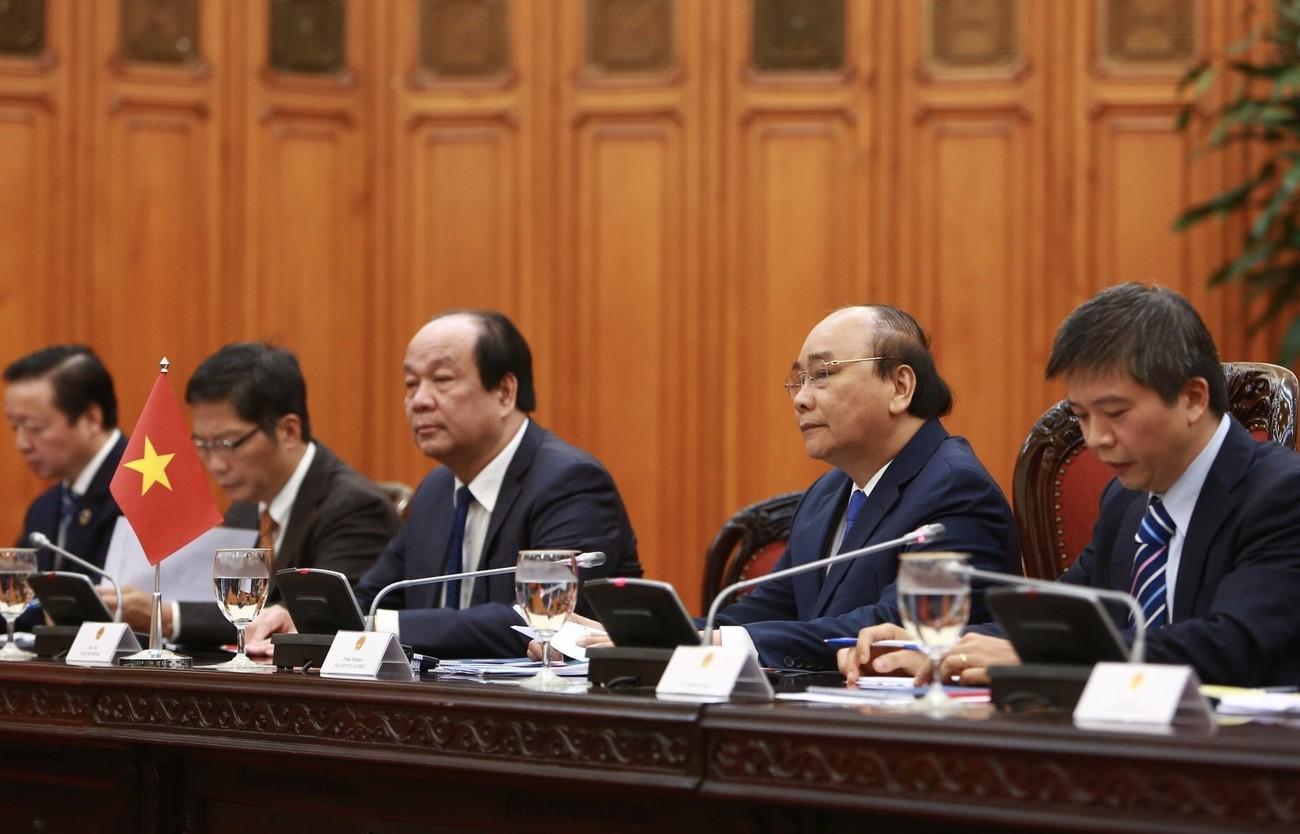Thủ tướng Nguyễn Xuân Phúc chủ trì lễ đón thủ tướng Nhật Bản Suga Yoshihide ảnh 8