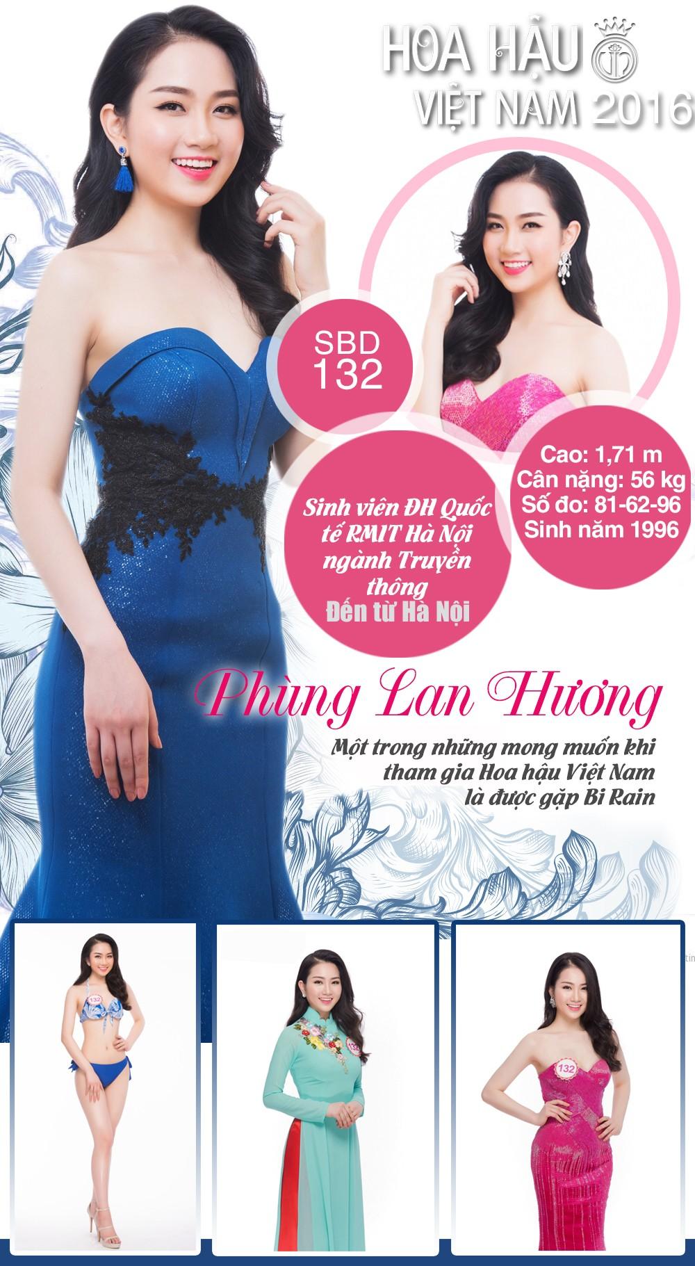 [INFO] Nhan sắc thí sinh HHVN 2016 Phùng Lan Hương ảnh 1