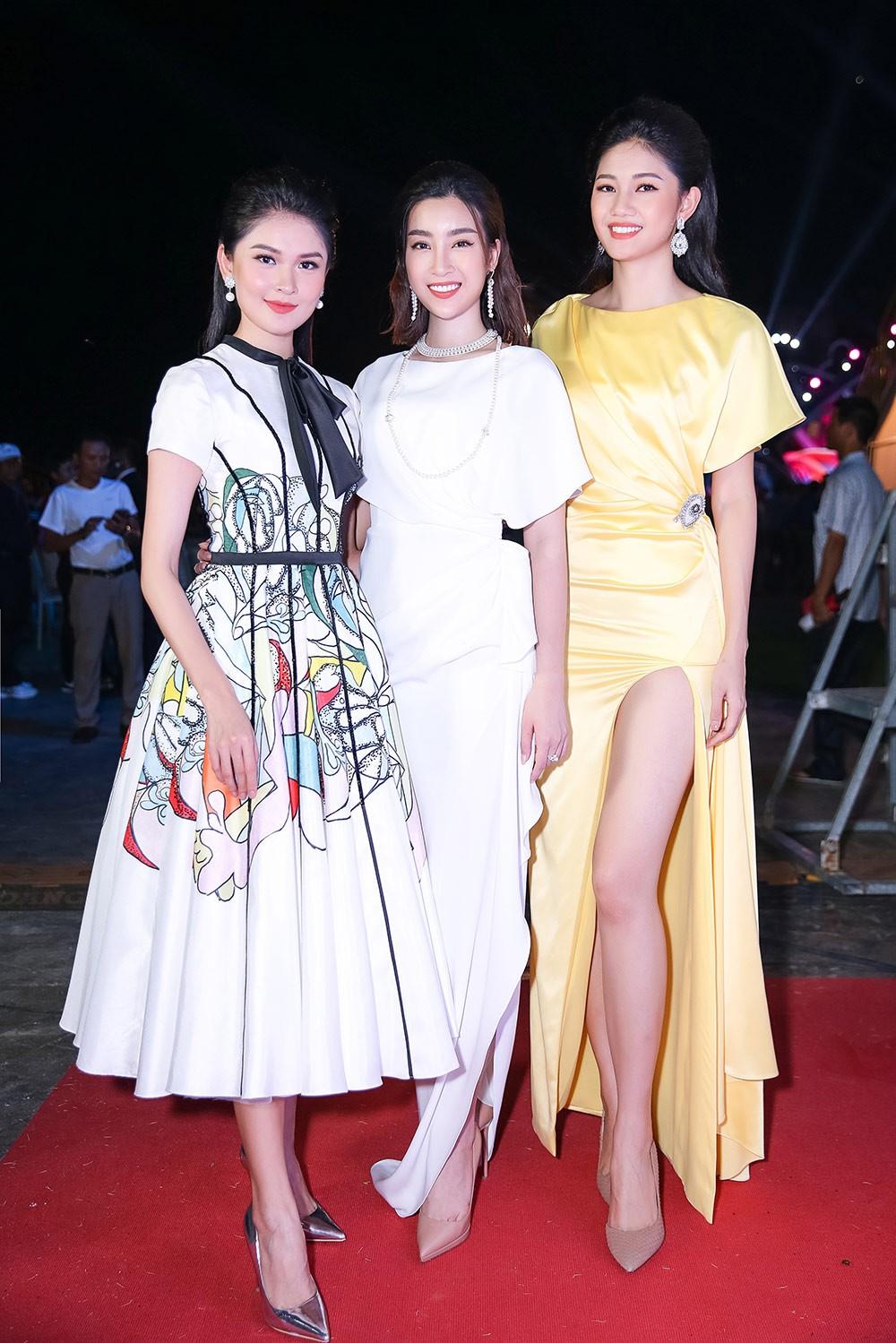 Cuộc hội ngộ hiếm có của dàn người đẹp xuất thân từ Hoa hậu Việt Nam ảnh 1