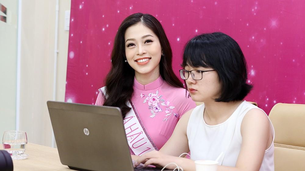 Top 3 Hoa hậu Việt Nam chia sẻ hành trình chinh phục vương miện ảnh 7