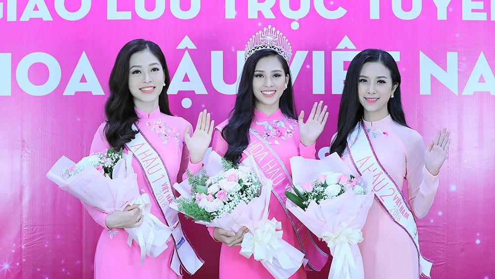 Top 3 Hoa hậu Việt Nam chia sẻ hành trình chinh phục vương miện ảnh 5