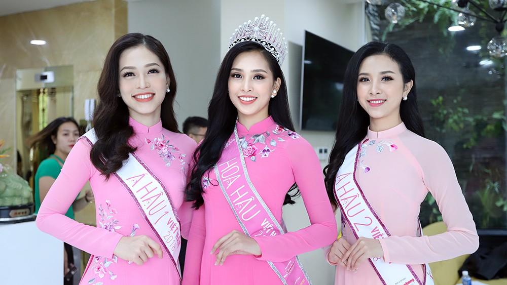 Top 3 Hoa hậu Việt Nam chia sẻ hành trình chinh phục vương miện ảnh 1