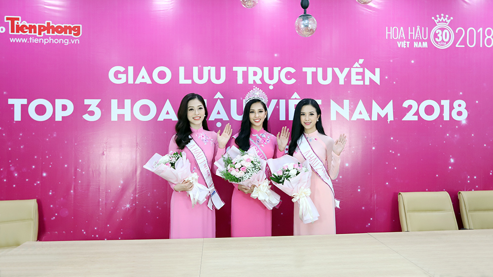 Top 3 Hoa hậu Việt Nam chia sẻ hành trình chinh phục vương miện ảnh 9