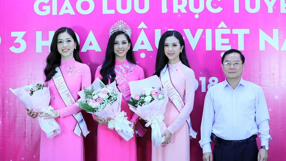 Top 3 Hoa hậu Việt Nam chia sẻ hành trình chinh phục vương miện ảnh 10