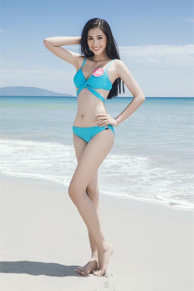 'Bỏng mắt' ngắm tân Hoa hậu Trần Tiểu Vy khoe dáng với bikini ảnh 2