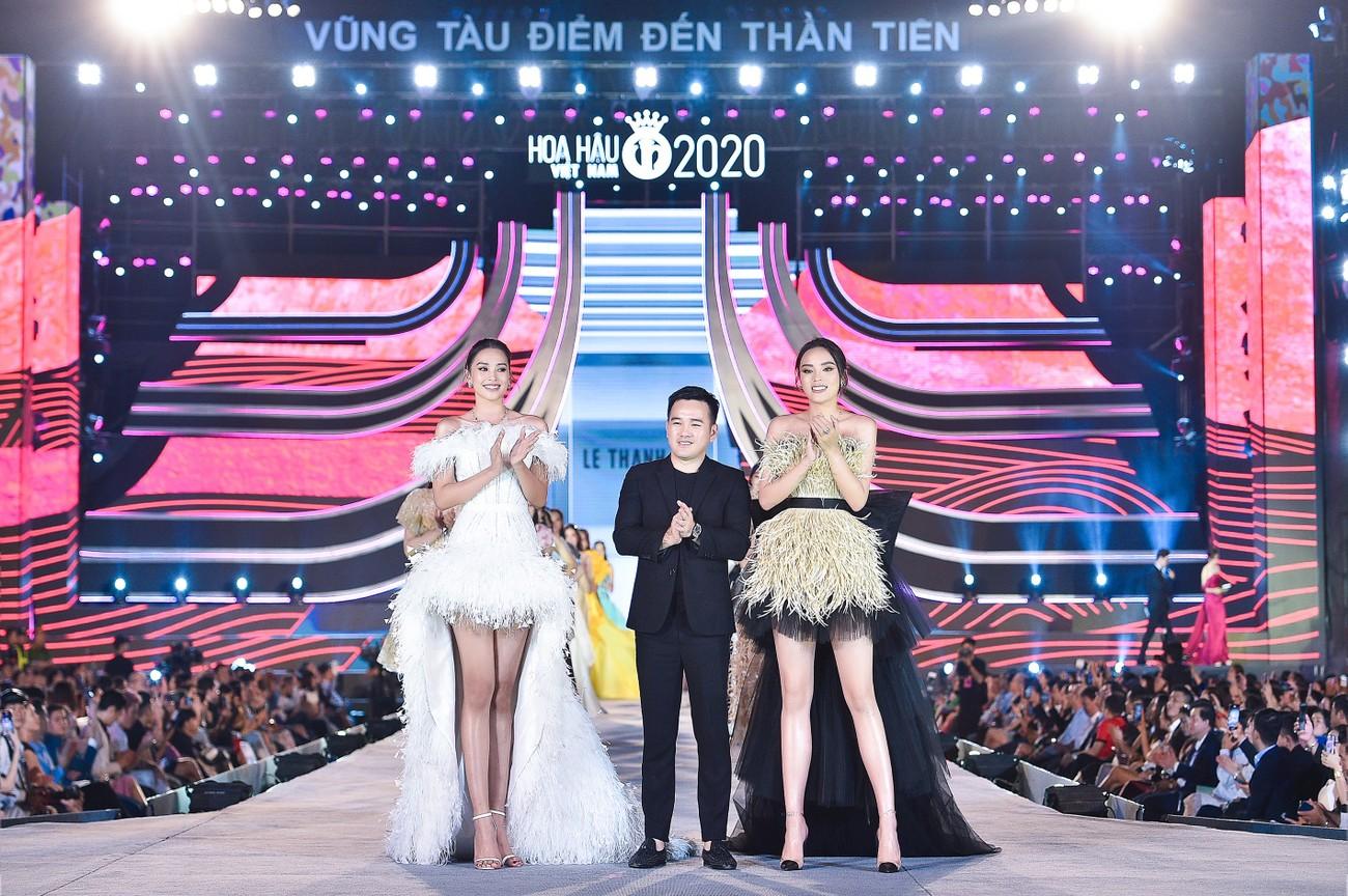 Thí sinh HHVN 2020 catwalk kiêu sa bên 2 nàng hậu Kỳ Duyên, Tiểu Vy ảnh 3