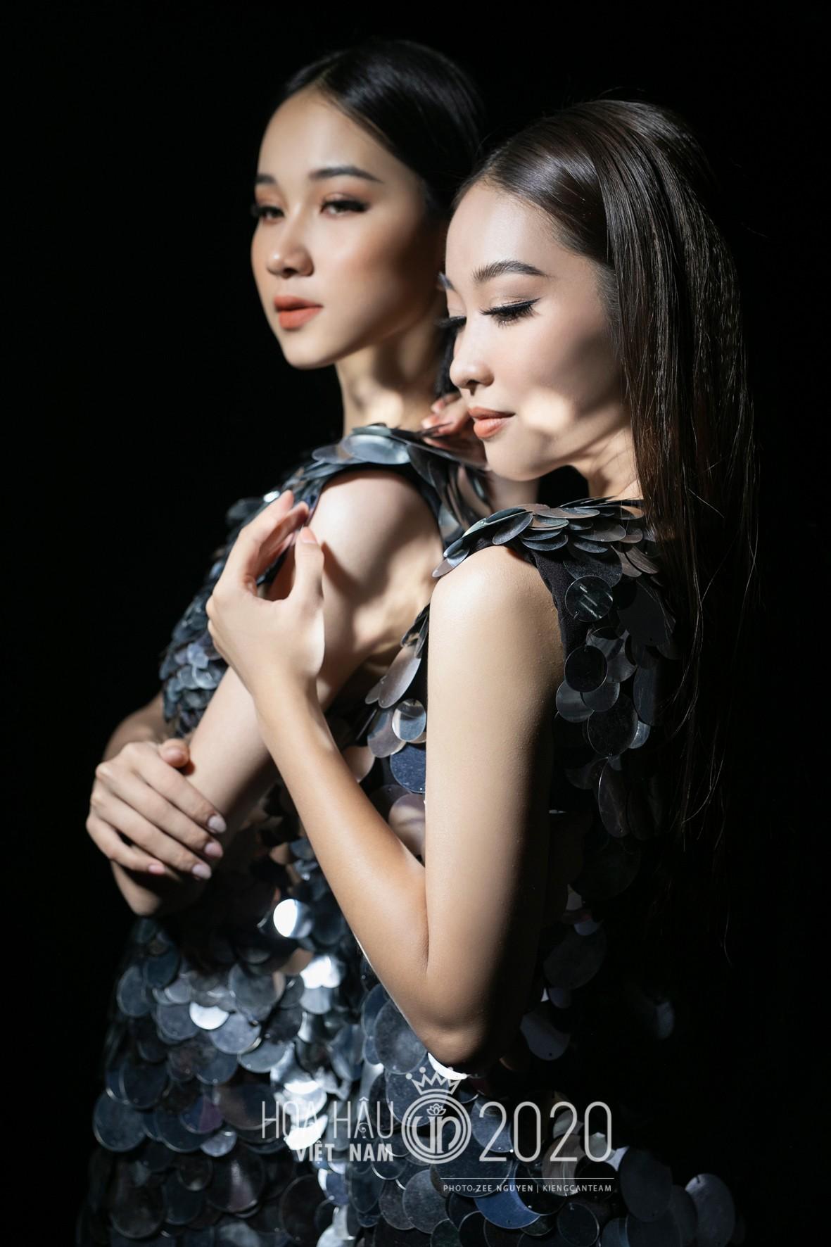 Hé lộ loạt ảnh hậu trường chung kết xinh đẹp của Hoa hậu Đỗ Thị Hà và các thí sinh ảnh 9