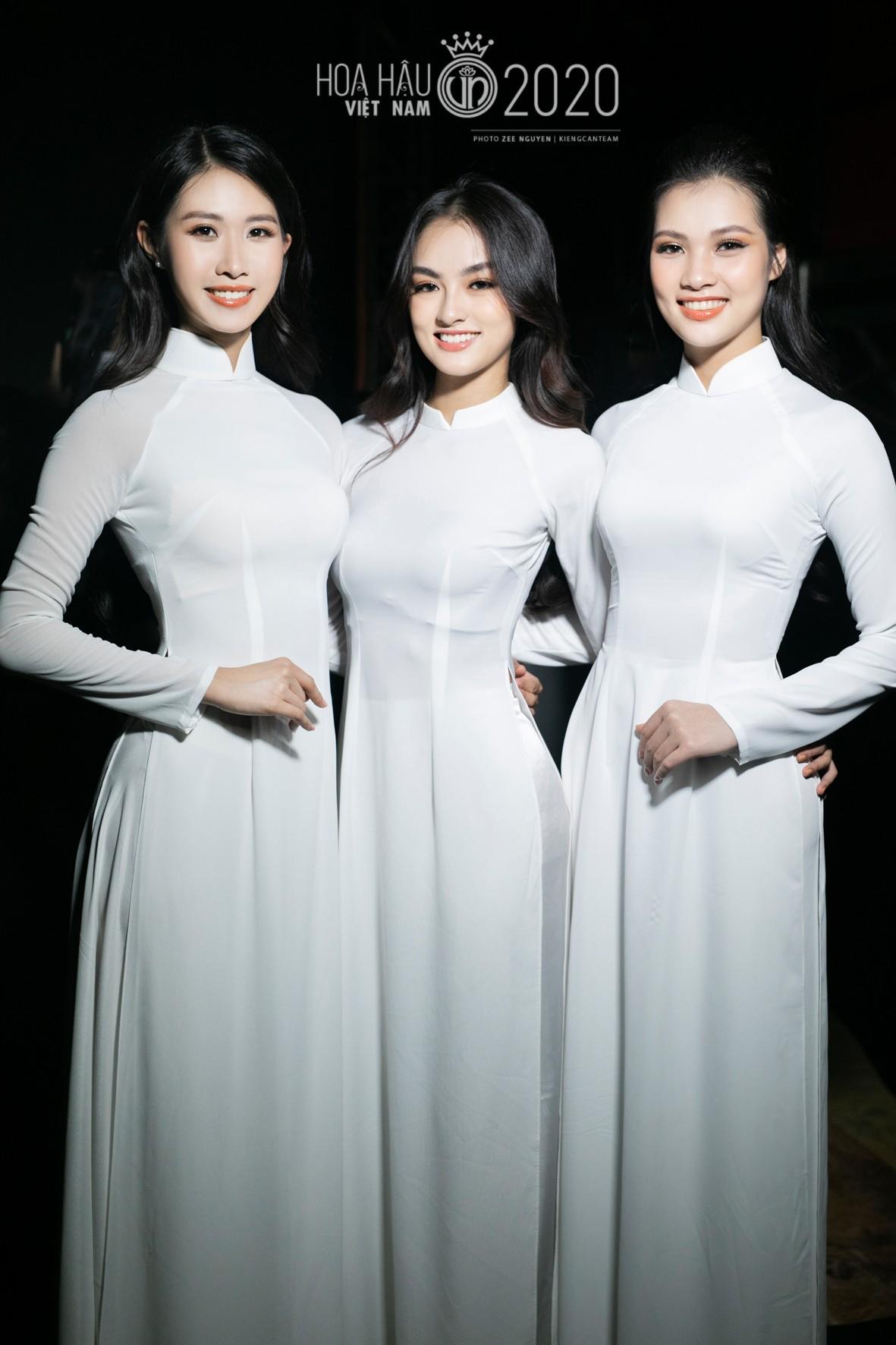 Hé lộ loạt ảnh hậu trường chung kết xinh đẹp của Hoa hậu Đỗ Thị Hà và các thí sinh ảnh 8
