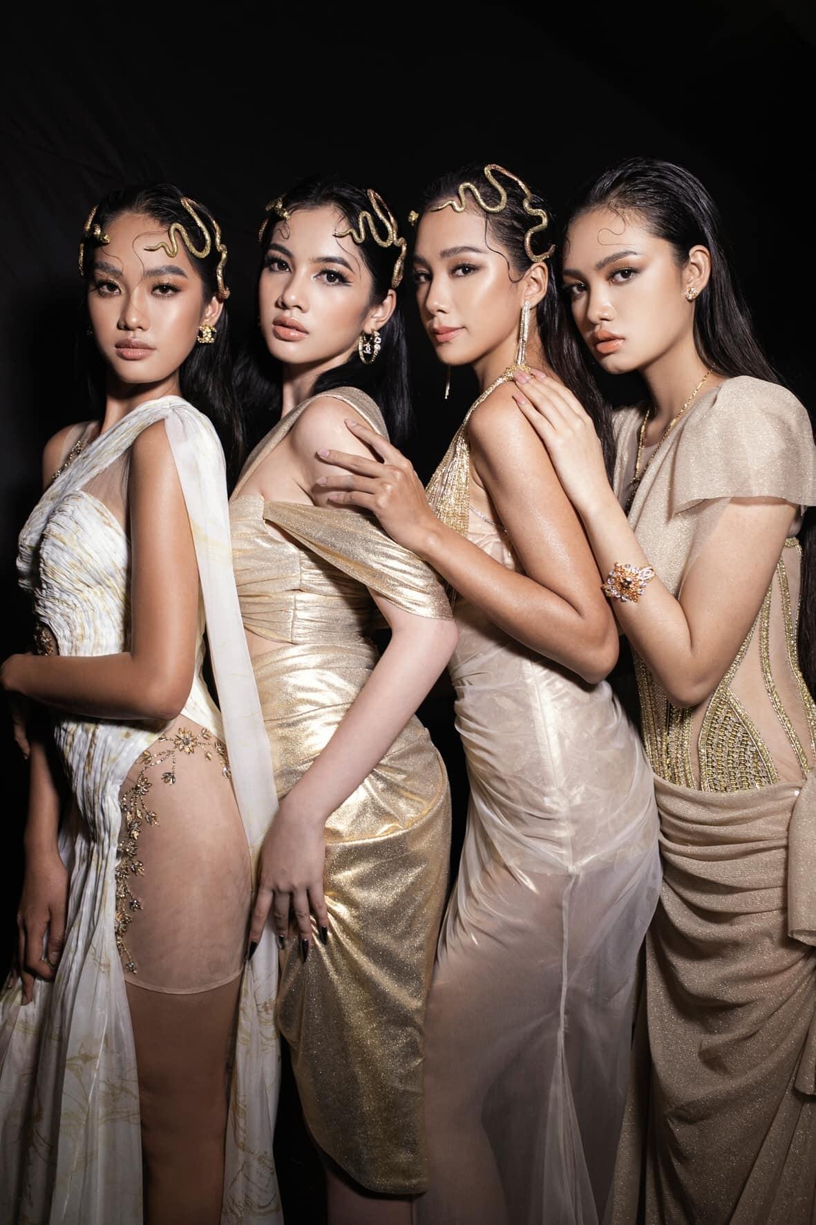 Dàn người đẹp của Hoa hậu Việt Nam 2020 thần thái cuốn hút trên sàn catwalk ảnh 1