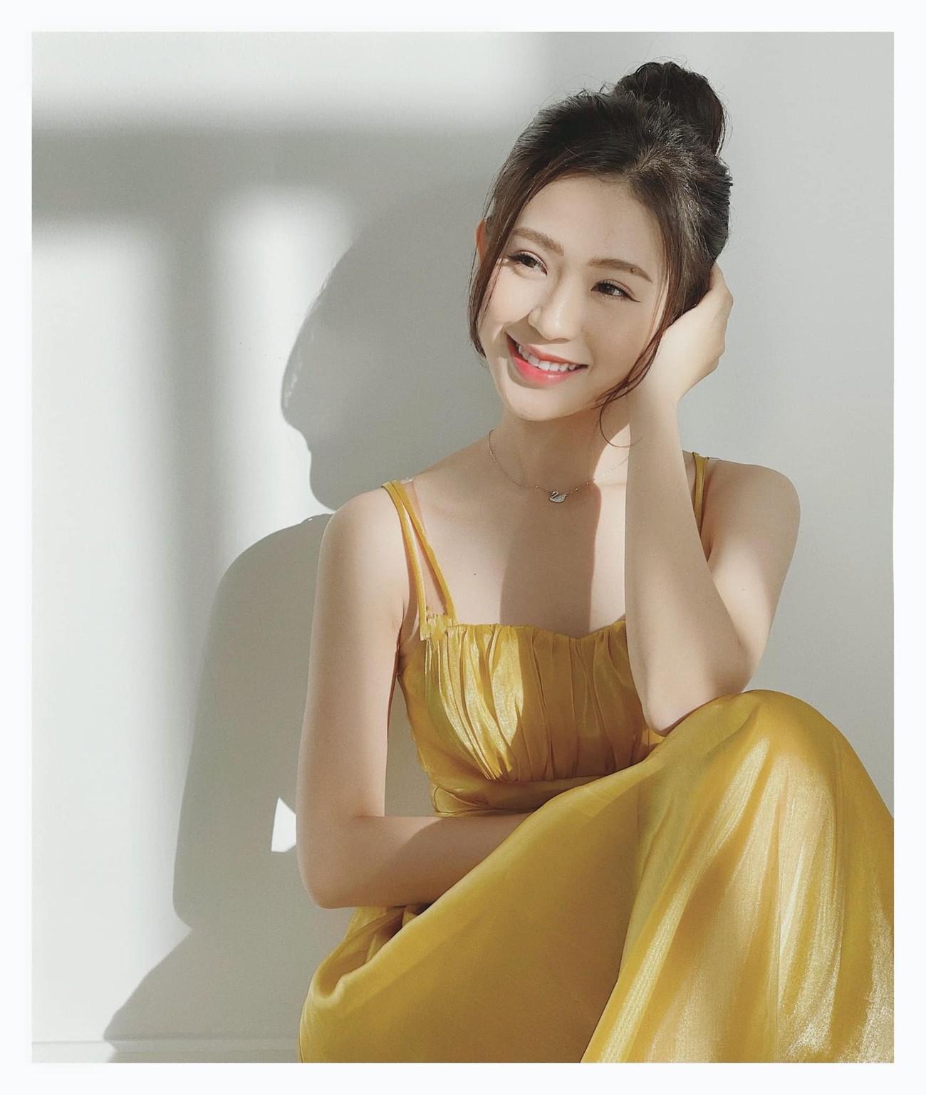 Nhan sắc tựa nàng thơ của 'Người đẹp được yêu thích nhất' Hoa hậu Việt Nam 2020 ảnh 5