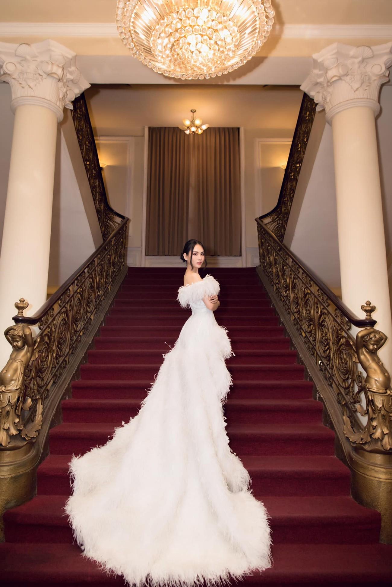 Diện váy cúp ngực gợi cảm, người đẹp Huỳnh Nguyễn Mai Phương hút hồn người nhìn ảnh 4