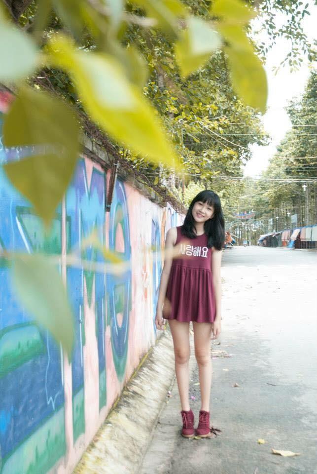Ảnh cấp 3 cực xinh đẹp của 'Người đẹp có làn da đẹp nhất' Hoa hậu Việt Nam 2020 ảnh 8