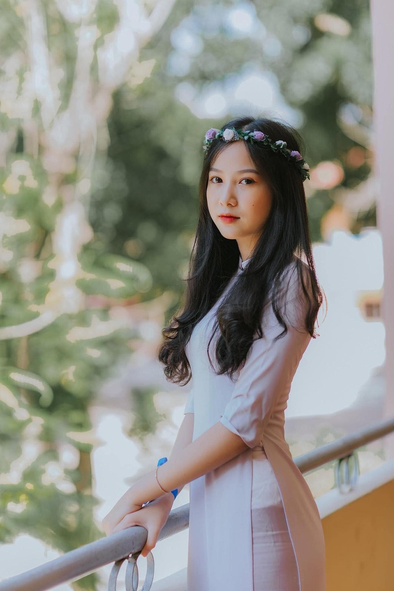 Ảnh cấp 3 cực xinh đẹp của 'Người đẹp có làn da đẹp nhất' Hoa hậu Việt Nam 2020 ảnh 1