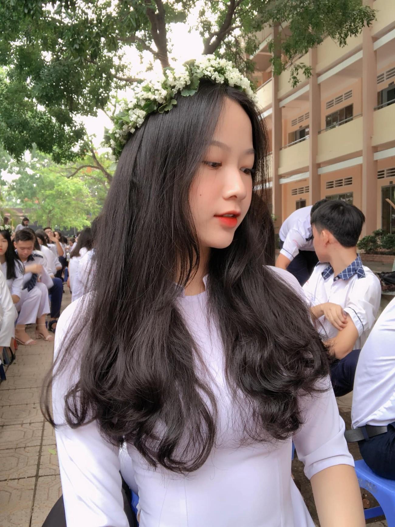 Ảnh cấp 3 cực xinh đẹp của 'Người đẹp có làn da đẹp nhất' Hoa hậu Việt Nam 2020 ảnh 2