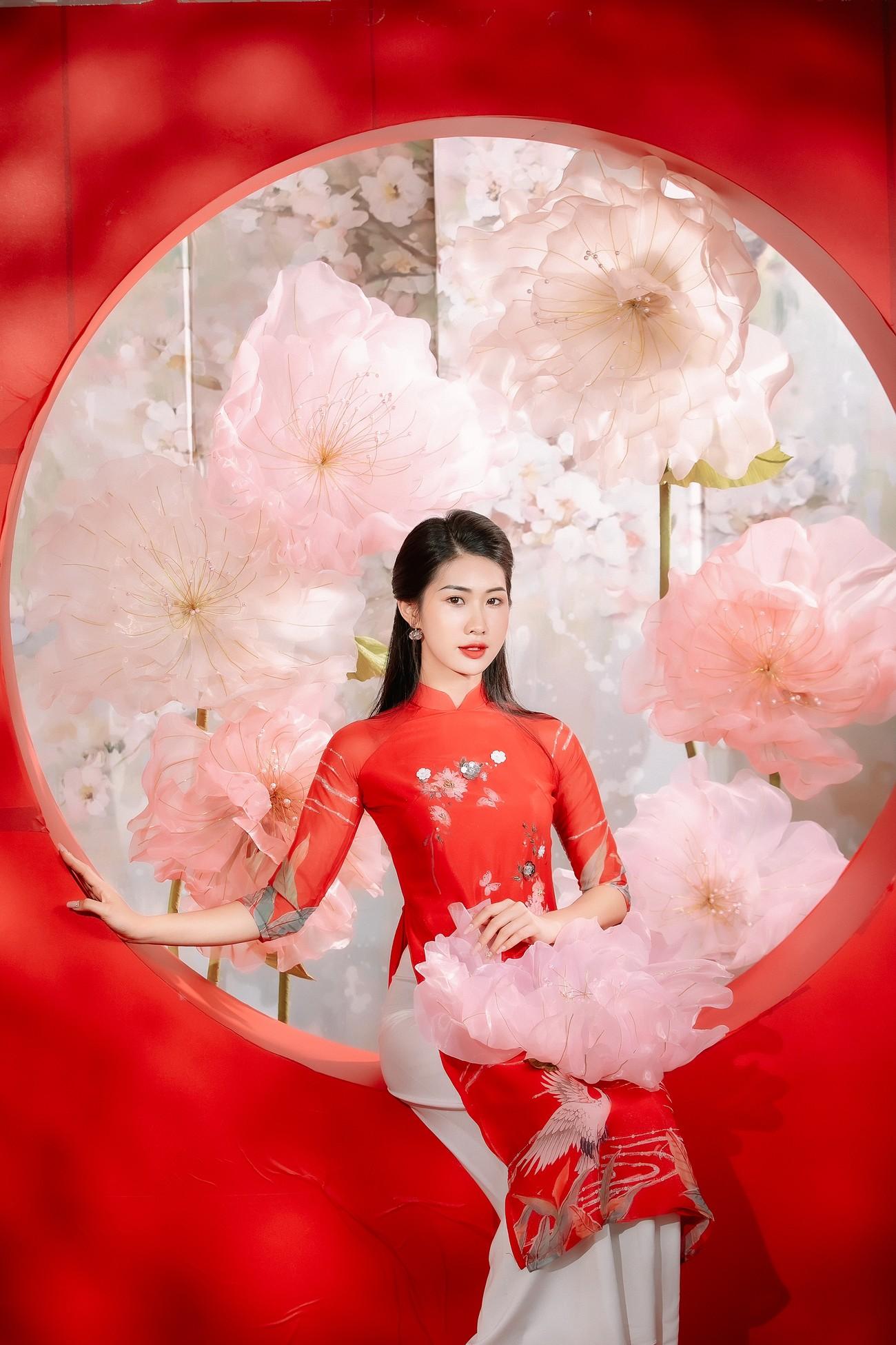 2 cô gái lọt Top 5 Người đẹp Thể thao HHVN 2020 'đọ sắc' với áo dài ảnh 8