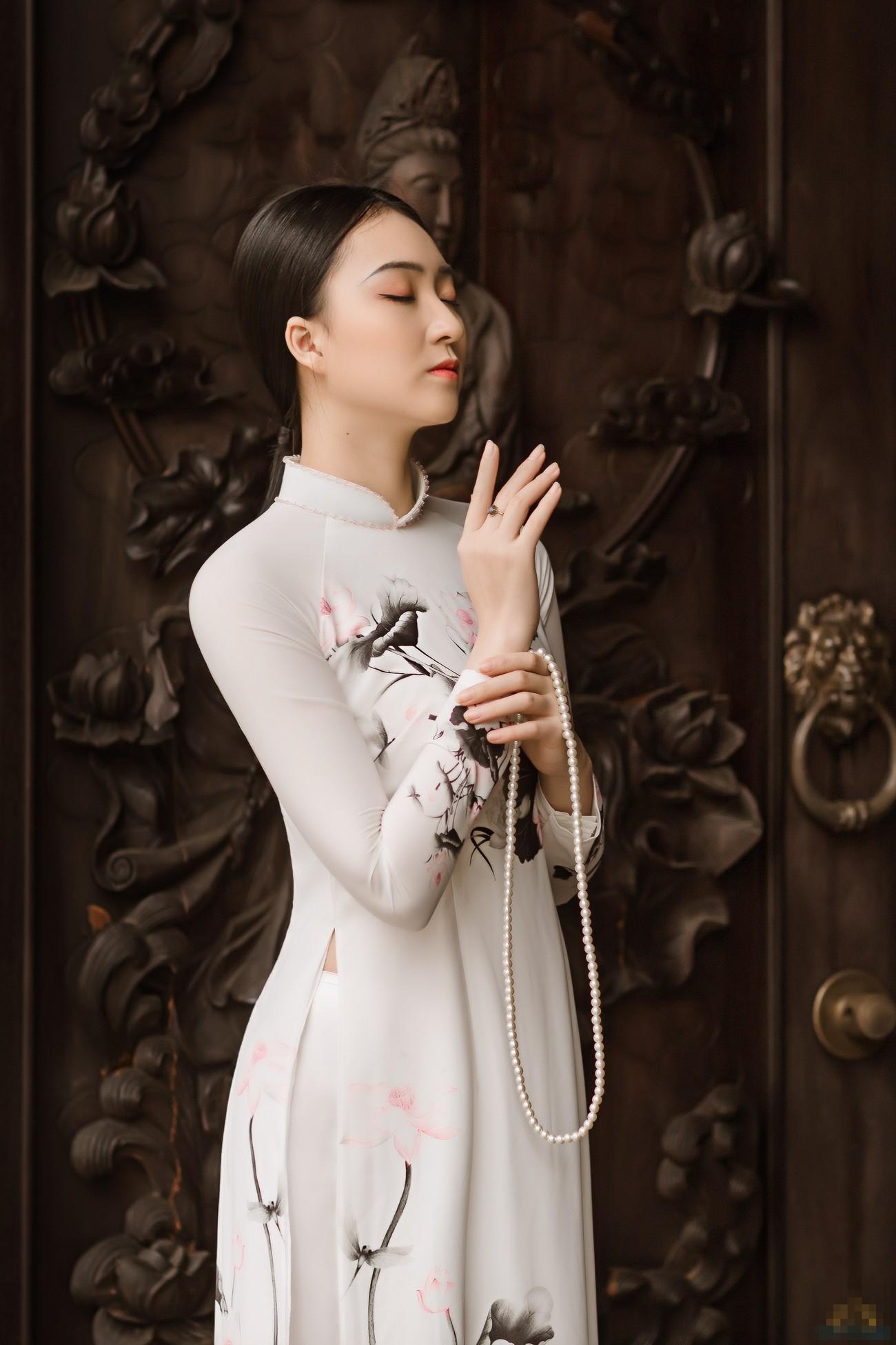 2 cô gái lọt Top 5 Người đẹp Thể thao HHVN 2020 'đọ sắc' với áo dài ảnh 4