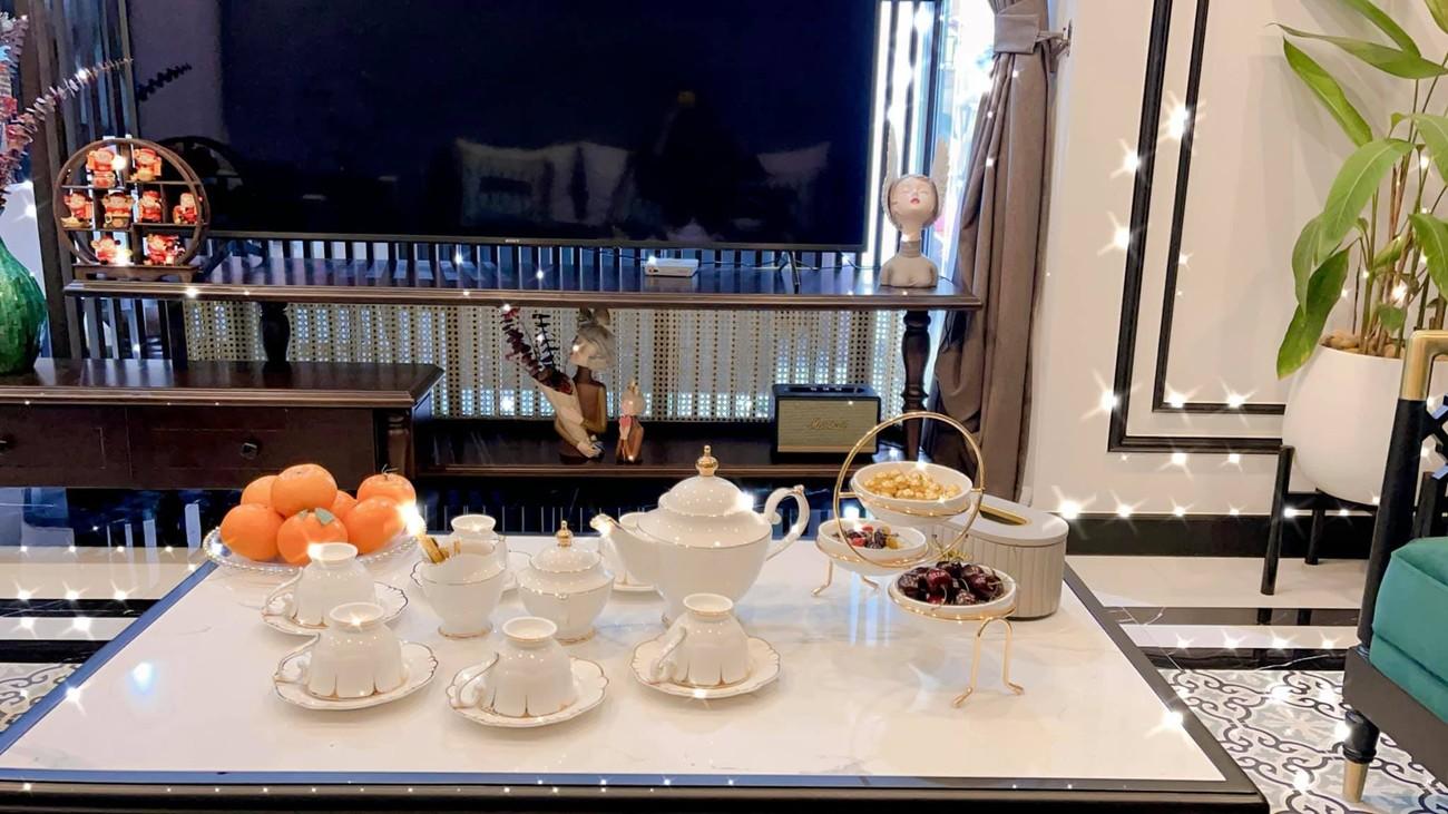 Cận cảnh căn hộ cao cấp, sang trọng như khách sạn của 'Quỳnh búp bê' Phương Oanh ảnh 10