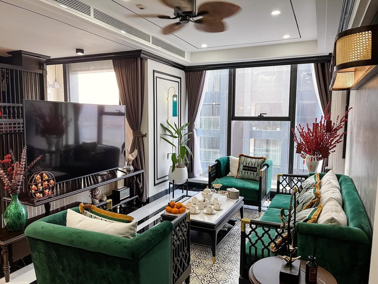 Cận cảnh căn hộ cao cấp, sang trọng như khách sạn của 'Quỳnh búp bê' Phương Oanh ảnh 2