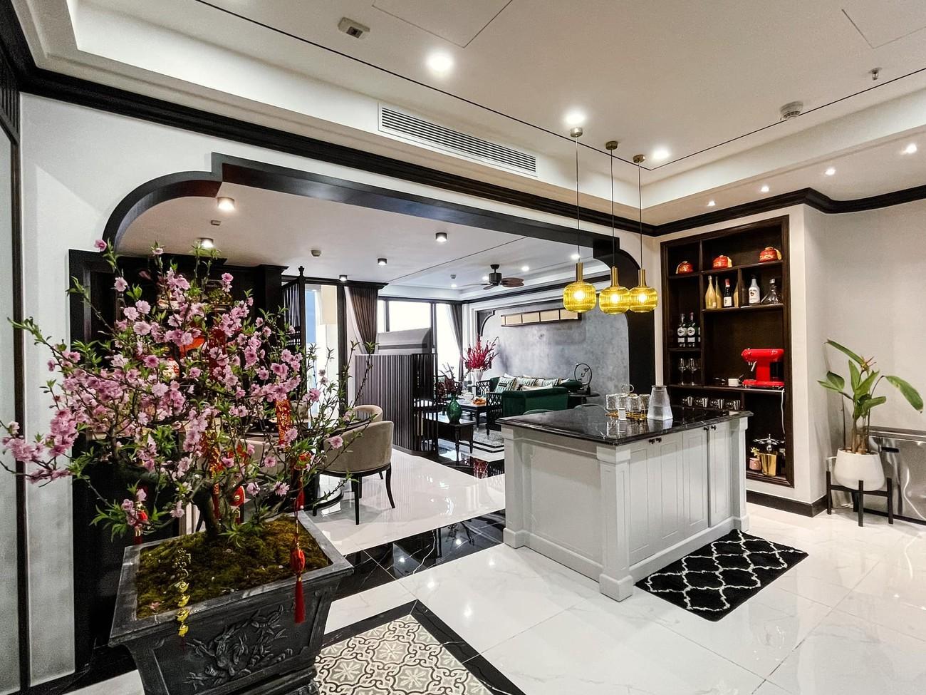Cận cảnh căn hộ cao cấp, sang trọng như khách sạn của 'Quỳnh búp bê' Phương Oanh ảnh 3