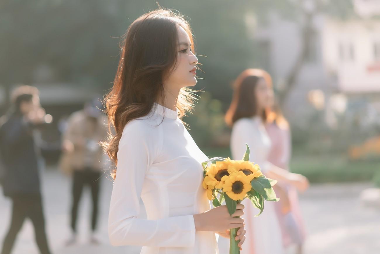 Hoa khôi Đại học Ngoại thương từng thi Hoa hậu Việt Nam 2020 giờ ra sao? ảnh 2