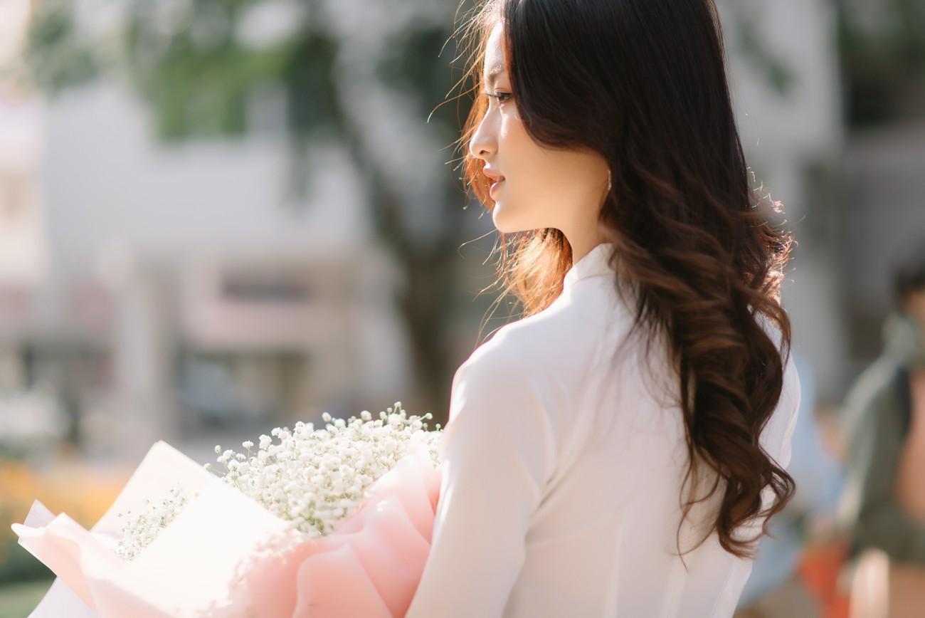 Hoa khôi Đại học Ngoại thương từng thi Hoa hậu Việt Nam 2020 giờ ra sao? ảnh 5