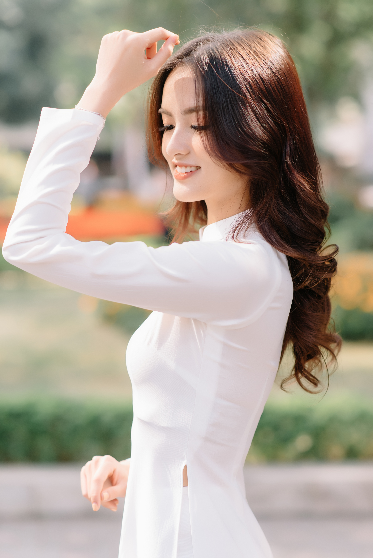 Hoa khôi Đại học Ngoại thương từng thi Hoa hậu Việt Nam 2020 giờ ra sao? ảnh 4