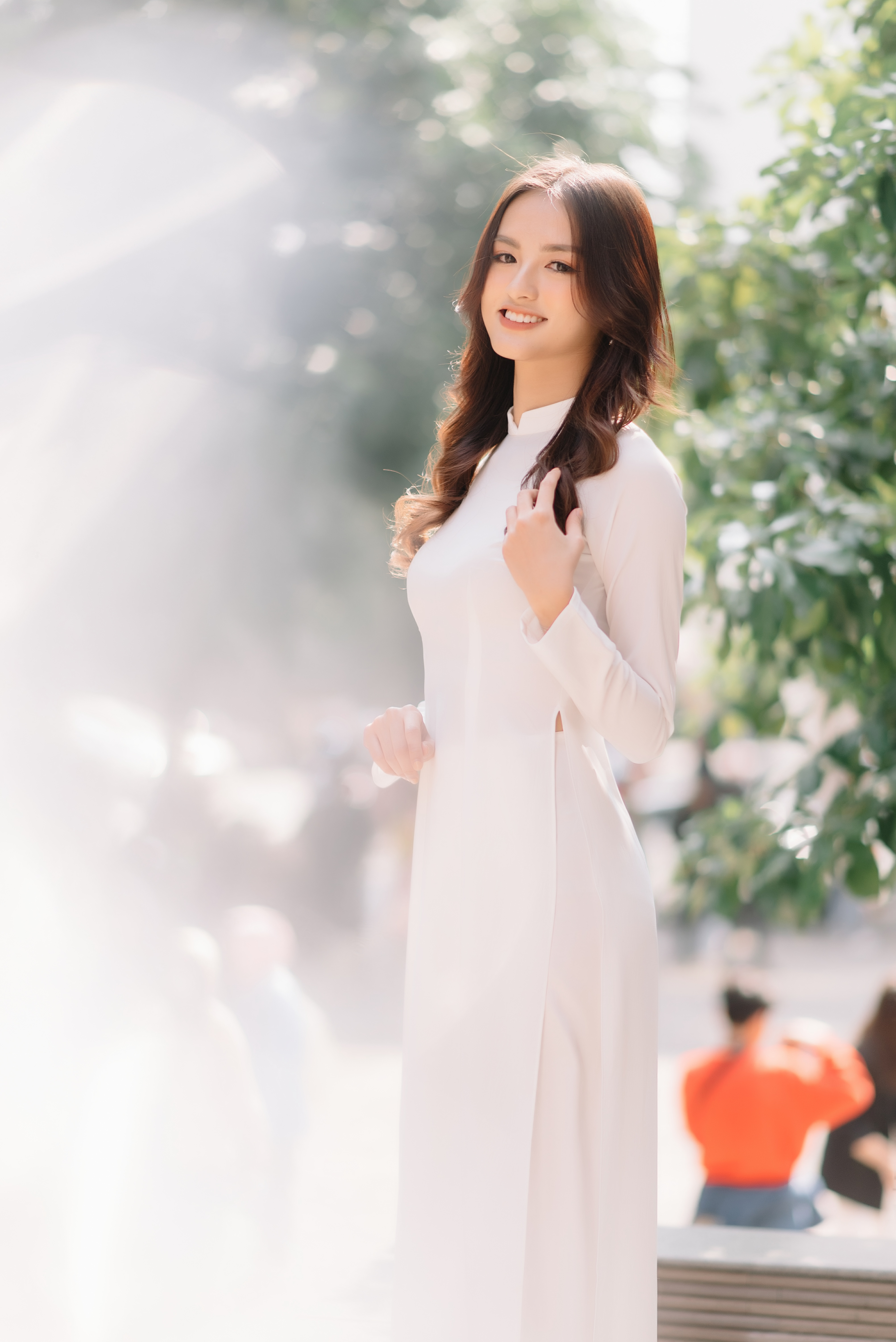 Hoa khôi Đại học Ngoại thương từng thi Hoa hậu Việt Nam 2020 giờ ra sao? ảnh 7