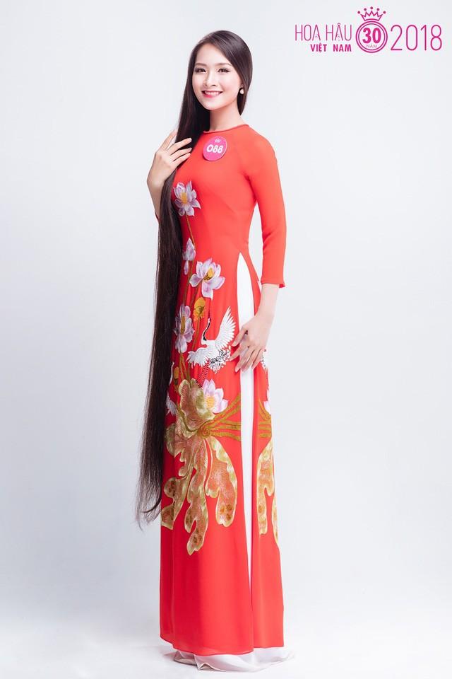 Những cô gái có mái tóc đẹp nhất Hoa hậu Việt Nam qua các mùa ảnh 15